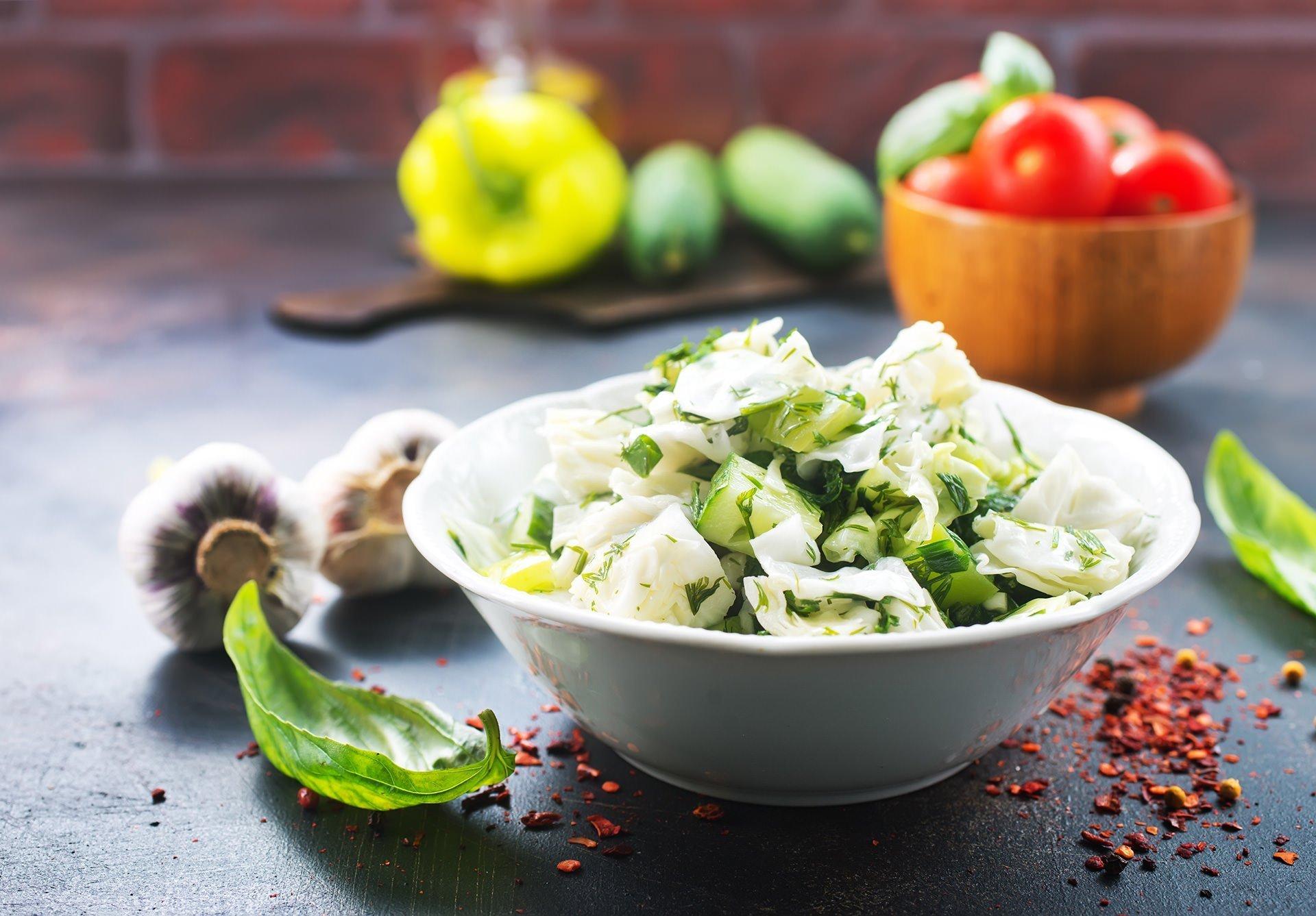 Ketokolik - Keto Lahana Salatası