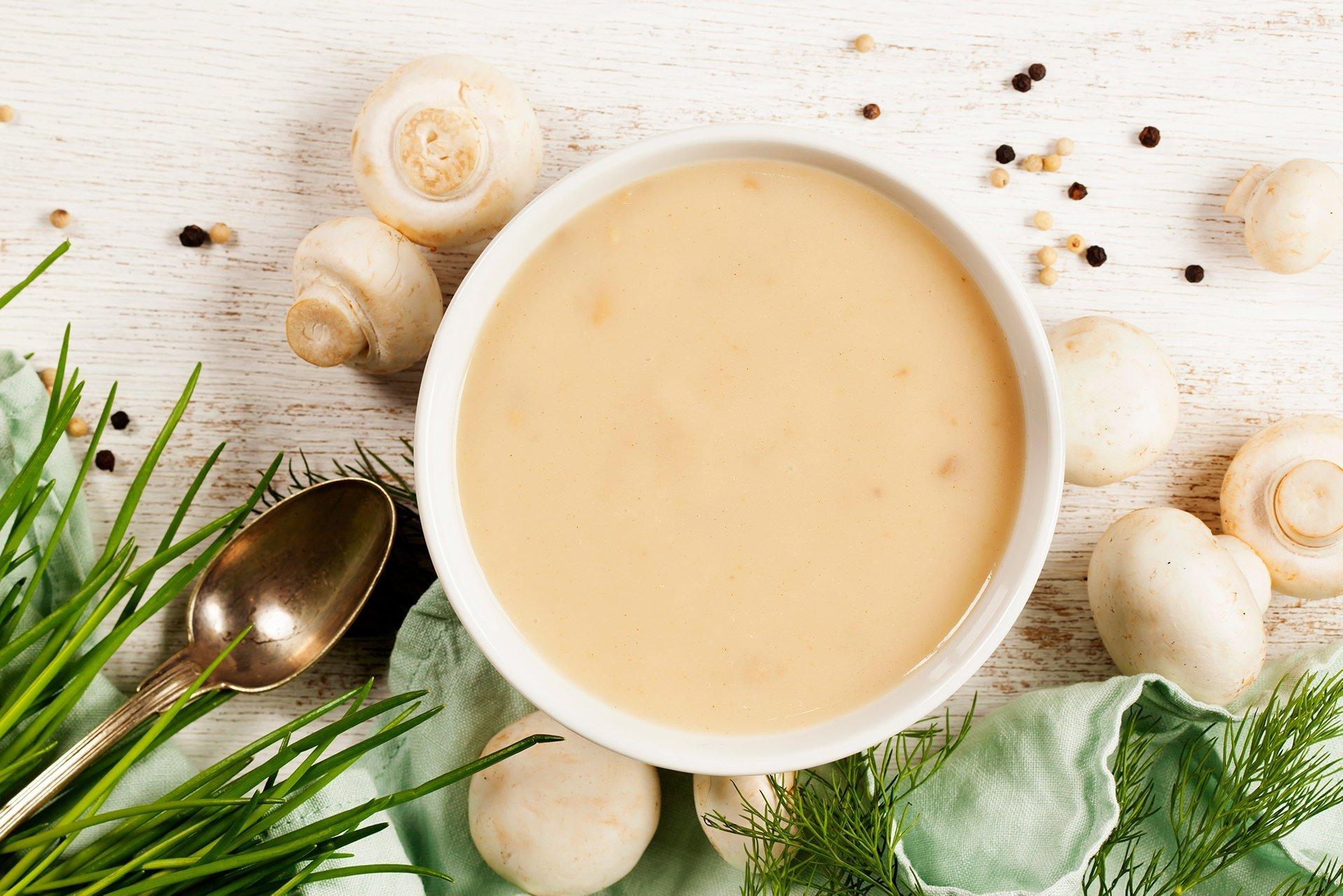Ketokolik - Kremalı mantar çorbası